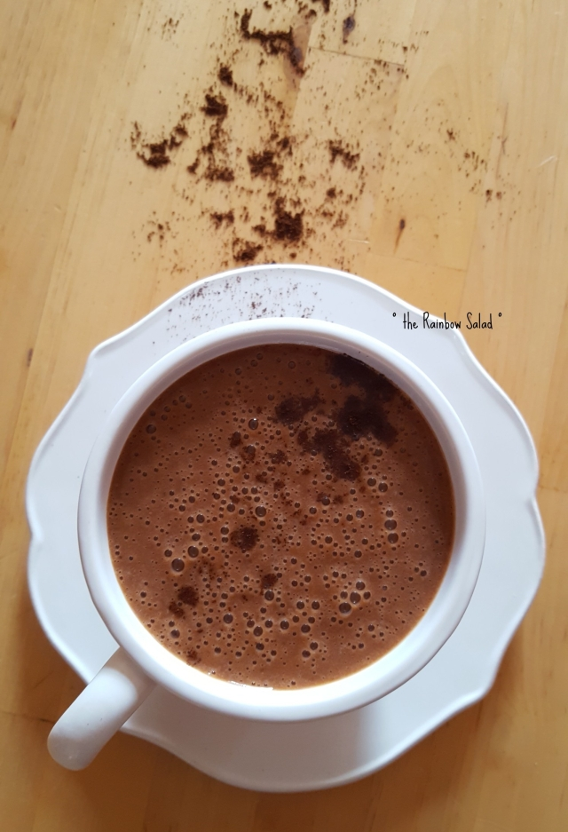 moka coffee chocolate vegan smoothie frullato vegan caffè cioccolato