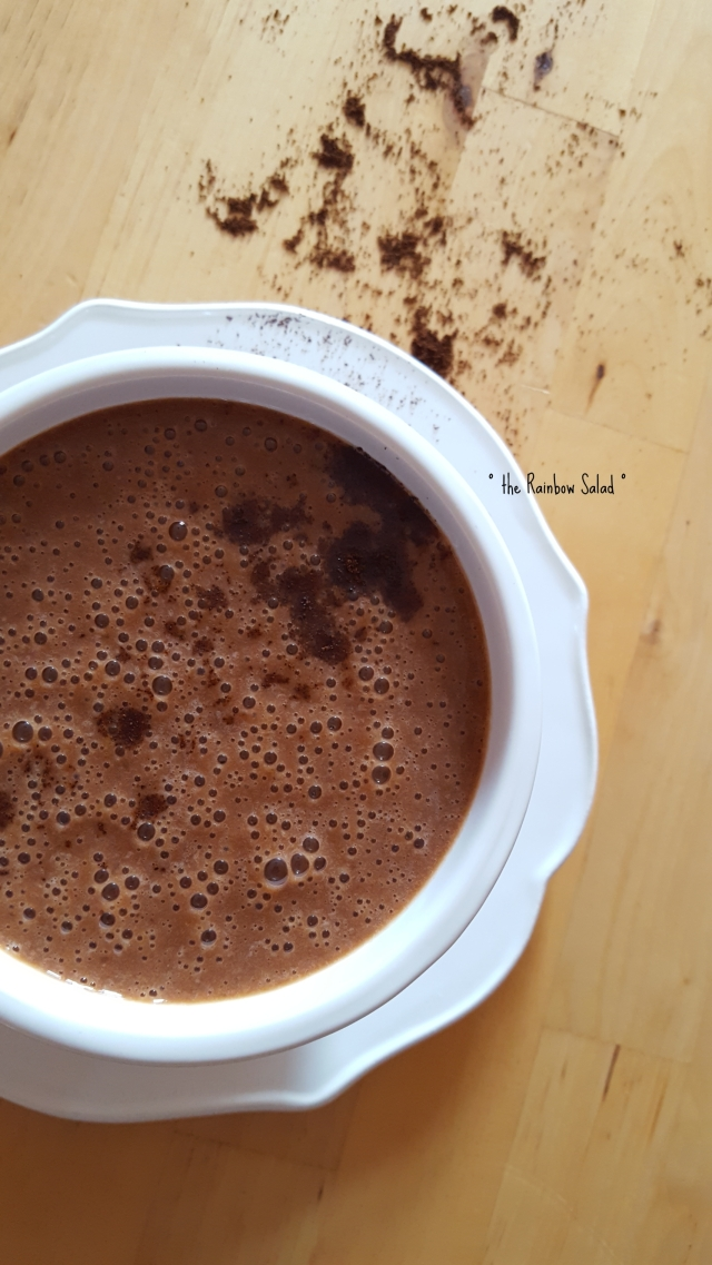 moka coffee chocolate vegan smoothie frullato caffè cioccolato proteico