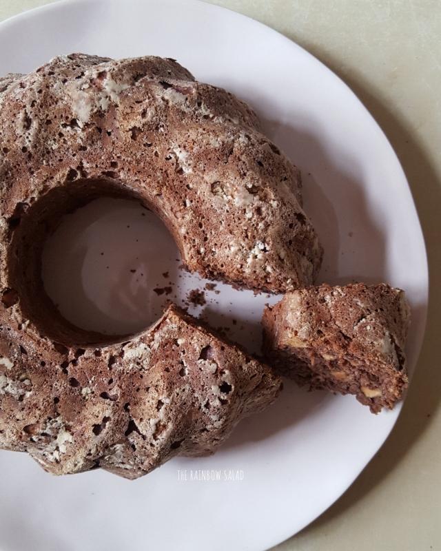 ciambellone proteico cacao e nocciole fit high protein bundt cake